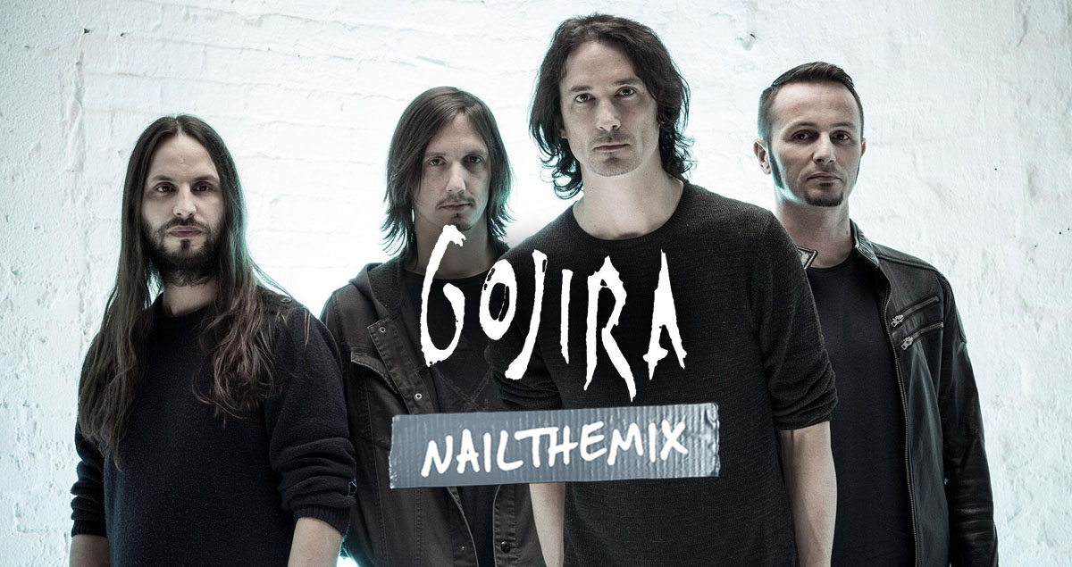Mix with Gojira multi-tracks