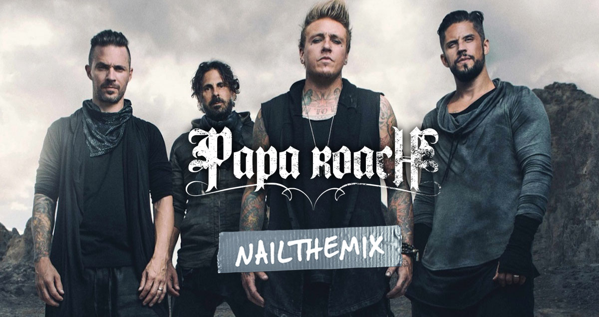 Mix with Papa Roach multi-tracks
